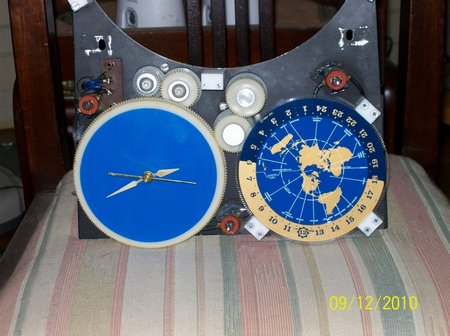 Spilhaus Space Clock For Sale
